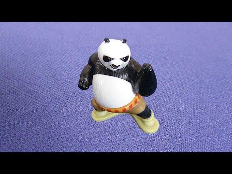 Панда 3. Открываю 12 киндеров из серии Кунг-Фу Панда