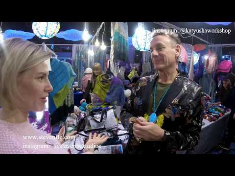 Episode #2. Vogue Knitting Live NY Jan 2018.