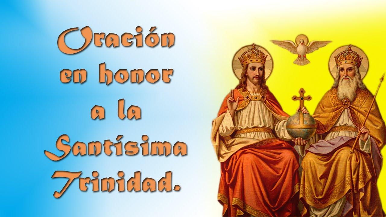 Resultado de imagen para Oración Especial a la Santísima Trinidad