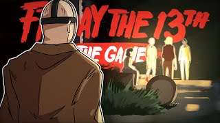 JASONOT DESTRUINDO O ACAMPAMENTO - Friday the 13th The Game