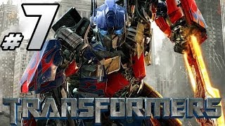 Transformers: The Game - Autobot Campaign - PART 7 - Optimus Prime Vs. Shockwave