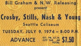 Crosby, Stills, Nash & Young - Traces (First Time Played Live)