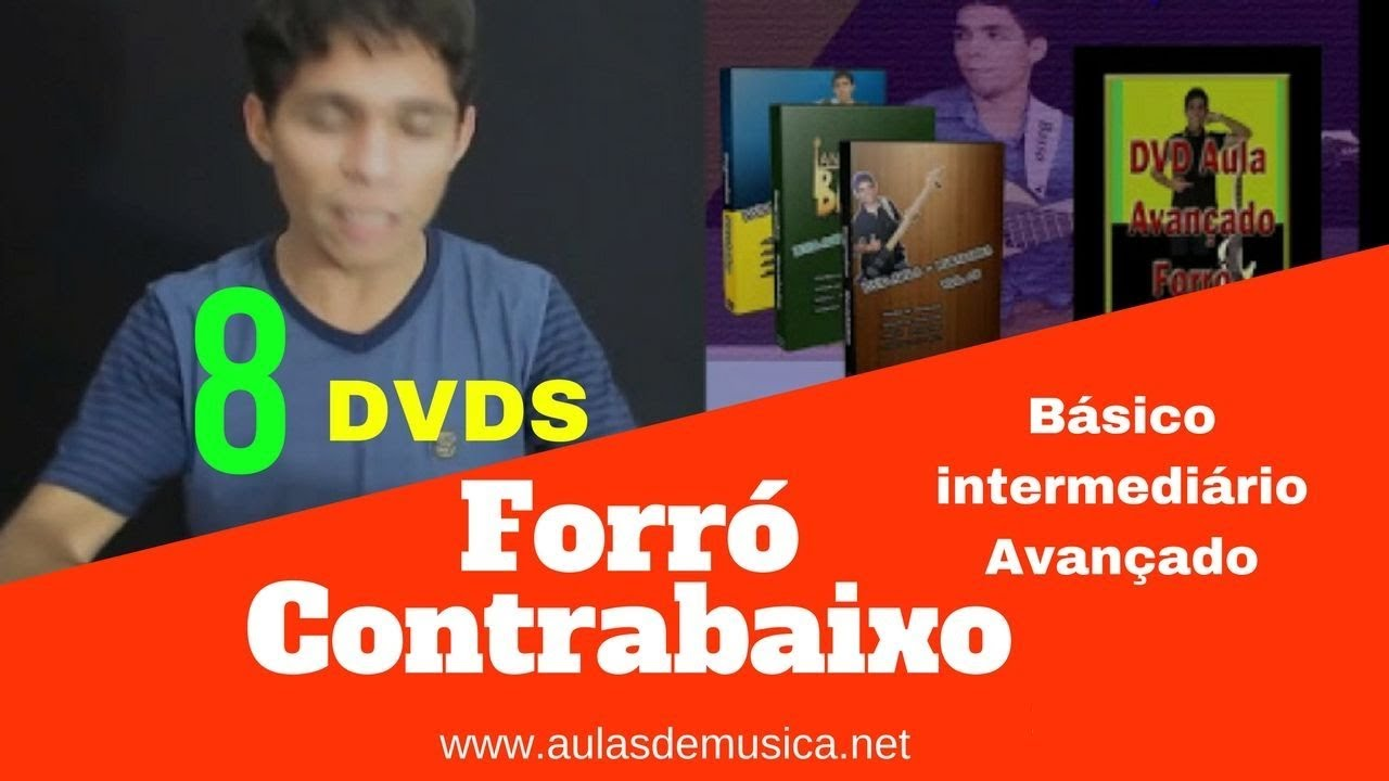 dvd de video aula de contrabaixo gratis