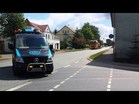 Mercedes-Benz Actros 4160 heavy transport