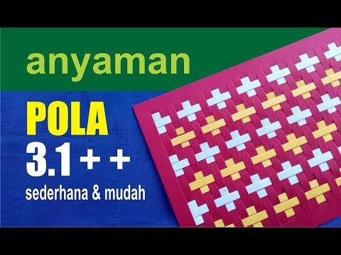 anyaman CANTIK POLA 3.1 PLUS PLUS ++