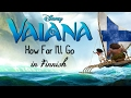 Download mp3 Vaiana/Moana - How Far I'll Go (Finnish) subs&trans for free