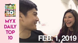 ROBI DOMINGO Wowed By RUFA MAE QUINTO's Waze Voice | MYX DAILY TOP 10 thumbnail