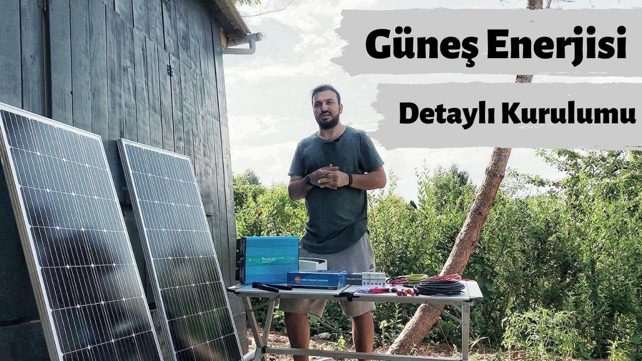 Ev için 3 kw Güneş Paneli Sistemi ile Elektrik Üretimi - Ekonomik Solar