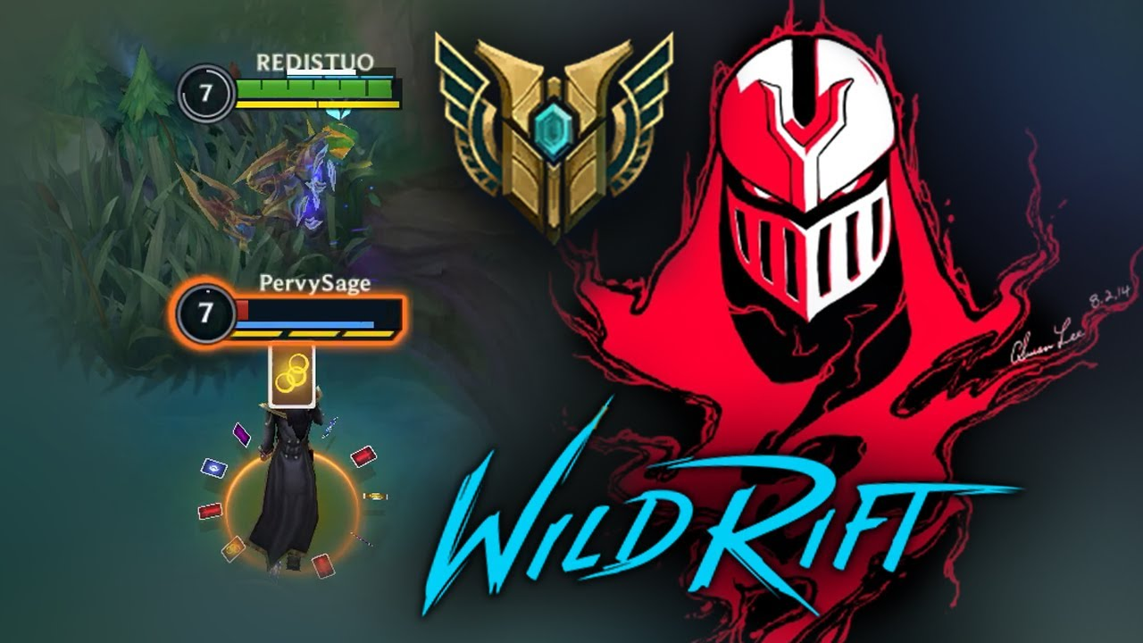OUTSIDER ZED vs. TWISTED FATE MID GAMEPLAY — WILD RIFT