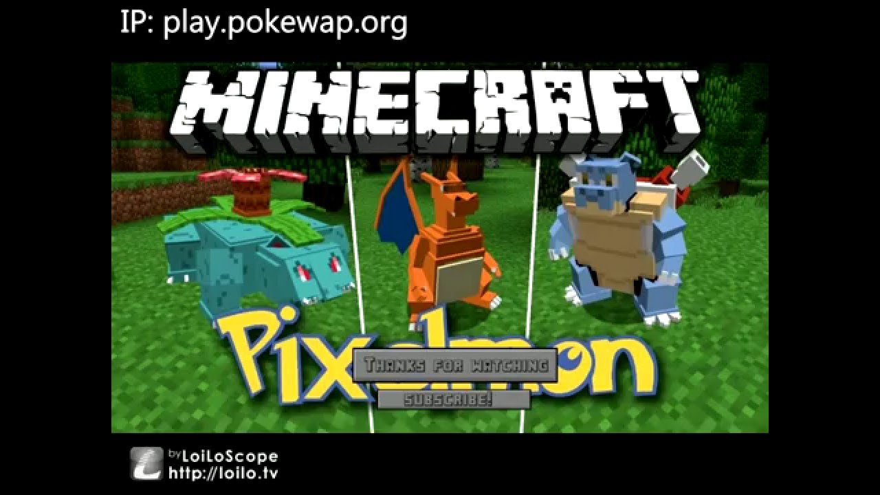 Minecraft: Pixélmon Mod Cracked