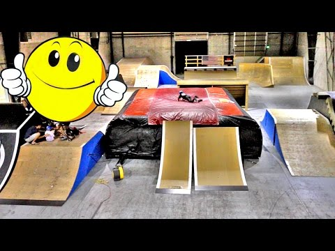 Thumbnail: CRAZY AIRBAG LAUNCH RAMP!