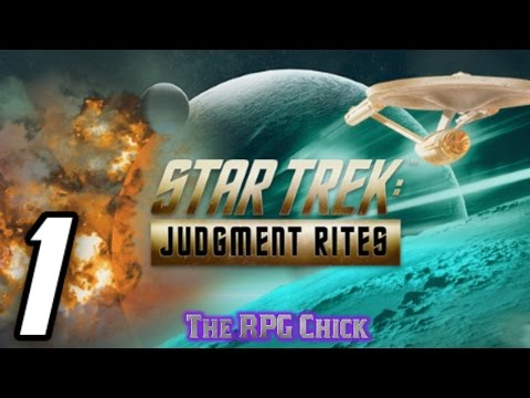Let's Play Star Trek: Judgment Rites (Blind), Part 1: Federation