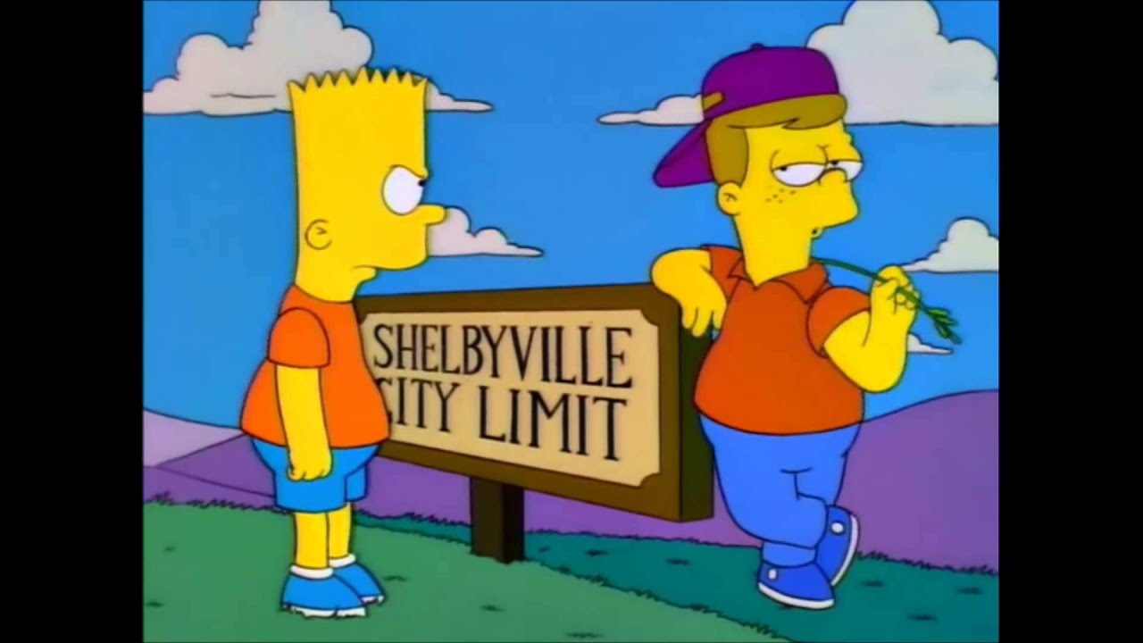 The Simpsons Springfield Vs Shelbyville Youtube