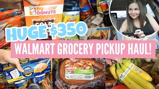 HUGE WALMART GROCERY HAUL 2020 | WALMART GROCERY PICKUP | FAMILY OF FOUR MONTHLY GROCERY HAUL