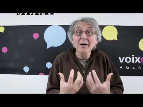 Vidéo Bertrand Boucheroy comédien chez STUDIOS VOA