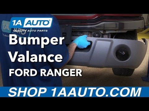 How to Replace Front Bumper Valance 01-03 Ford Ranger