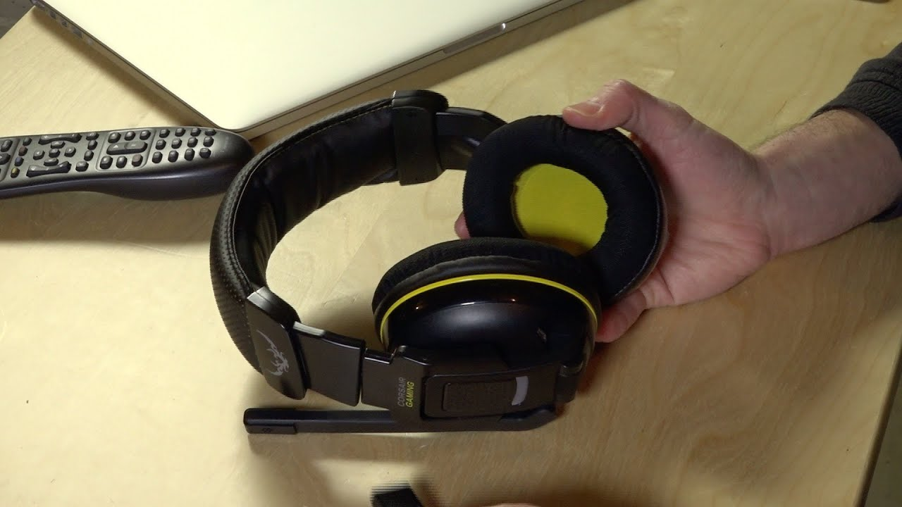 Corsair Gaming H2100 Dolby 7 1 Wireless Gaming Headset Review  (CA-9011127-NA)