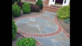 Unique Brick Walkway Ideas For Beautiful Home, Hardscape Path Design Ideas For Beautiful Home #2