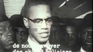 Malcolm X - In RARE form (tv interview)
