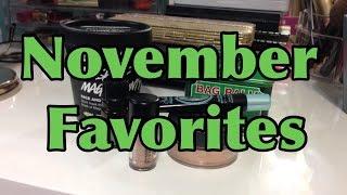 November Favs Thumbnail