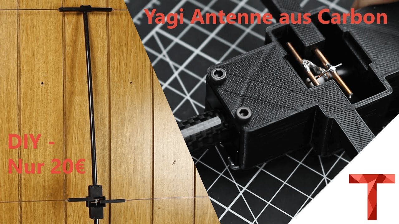 A Lightweight Two Metre Carbon Fibre Yagi Antenna | Hackaday