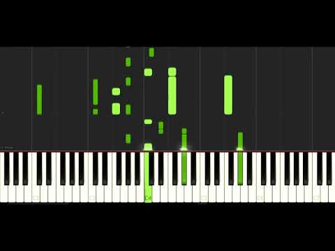 BTS - LOVE YOURSELF Highlight Reel FULL PIANO TUTORIAL SYNTHESIA [by RYUSERALOVER]