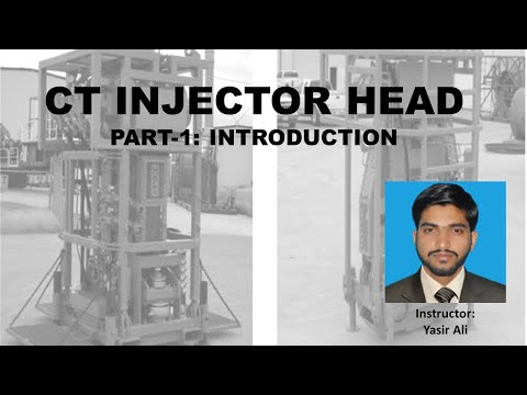 CT Injector Head Part-1: Introduction | Coiled Tubing Engineering By Yasir Ali