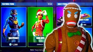 MISE À JOUR QUOTIDIENNE DE LA BOUTIQUE D'ARTICLES DE LA NOUVELLE ! 11 DÉCEMBRE - CHRISTMAS SKINS RETURNS - FORTNITE BATTLE ROYALE!