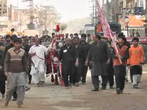 Markazi Imam Bargah Dar e Imam Hussain (a.s) Daska City 10 Muharram 1433 Hijri 2011