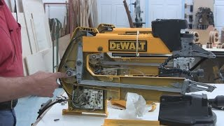 2014-12-04 Dewalt 788 Scroll Saw Service (part 1 Of 4)