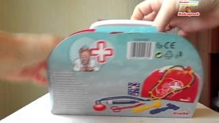 Видеообзор: Детский набор доктора Simba, 6 предметов