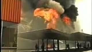Incendio en centro comercial Apumanque - año 1992