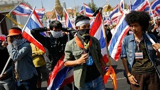 Bangkok anti-government protests continue after shooting