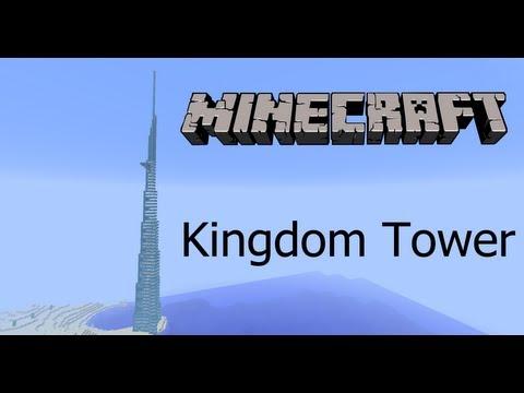 Minecraft - Jeddah Tower (Kingdom Tower)  [HD+]