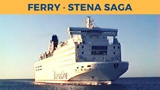 Classic Ferry Video 1996 - Arrival of ferry STENA SAGA in Frederikshavn (Stena Line)