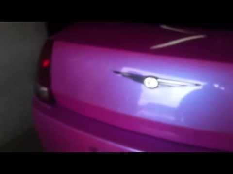 Outrageous Miami Pink Chrysler 300