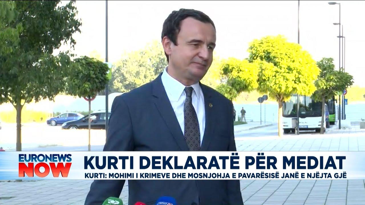 Download Kurti konfirmon për Euronews Albania se Kosova nuk merr pjesë në 'Open Balkan'