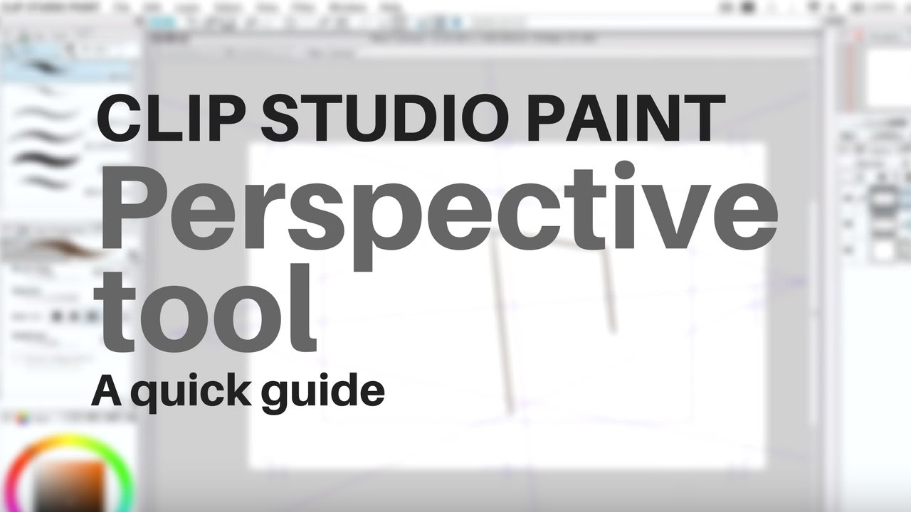 clip studio perspective ruler