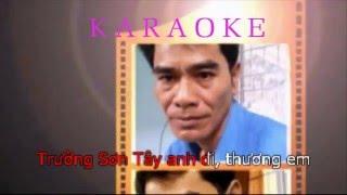 KARAOKE  Trường Sơn Đông Trường Sơn Tây Guitar ( CHELAMSON )