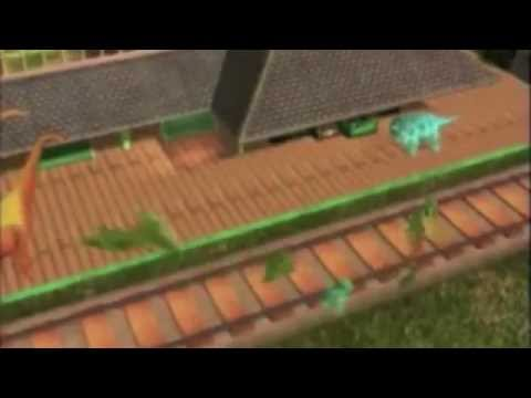 Dinosaur Train Intro with the Goosebumps Theme Song - YouTube