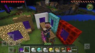 Как сделать портал в Рай, Новогодний, Алмазный, Редстоуновский Minecraft PE 0.13.1/0.13.2(Nisst канал: https://www.youtube.com/channel/UCOFsx9xdLZRp11cUVlfetgA На этом сайте вы сможете найти все для minecraft pocket ..., 2015-12-31T12:43:04.000Z)
