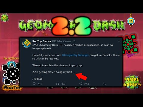 Geometry Dash 2.2 is close! 2.2 Release news