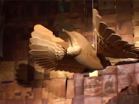 Урок лепки из папье-маше.Птица счастья.Синяя птица удачи.