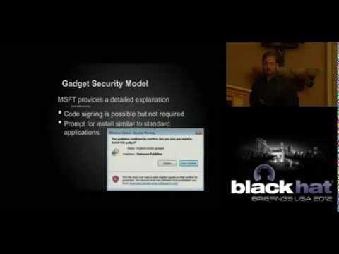 Blackhat 2012: Gadgets