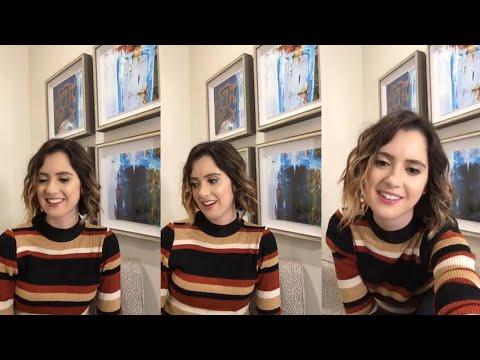 Laura Marano Instagram live stream April 7th 2018
