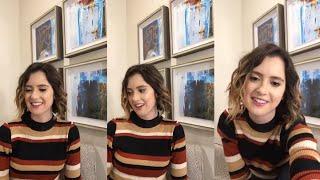 Laura Marano| Instagram live stream| April 7th 2018
