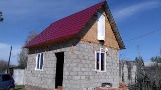 Отделка дачи:пол, стены, потолок, окна, дверь(, 2014-11-25T08:37:23.000Z)