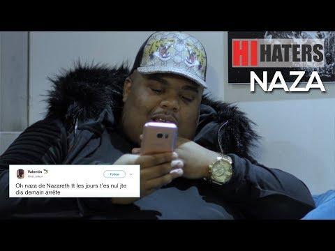 NAZA réagit aux haters du net dans Hi Haters