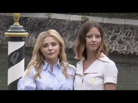 Chloe Grace Moretz and Mia Goth in Venice for the Film Festival 2018
