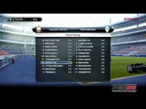 Game Modes - Pro Evolution Soccer 2013 Trailer